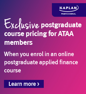 Exclusive postgraduate course pricing for ATAA members